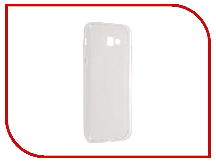 Аксессуар Чехол Samsung Galaxy A7 2017 A720F Svekla Transparent SV-SGA720F-WH аксессуар чехол lenovo vibe c2 k10a40 svekla transparent sv lek10a40 wh