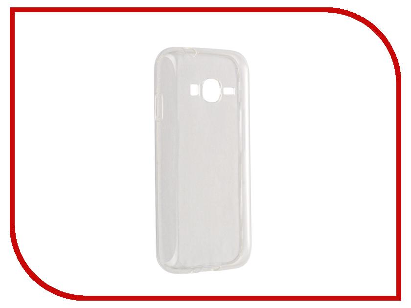 Аксессуар Чехол Samsung Galaxy J1 mini Prime Svekla J106F Transparent SV-SGJ106F-WH<br>