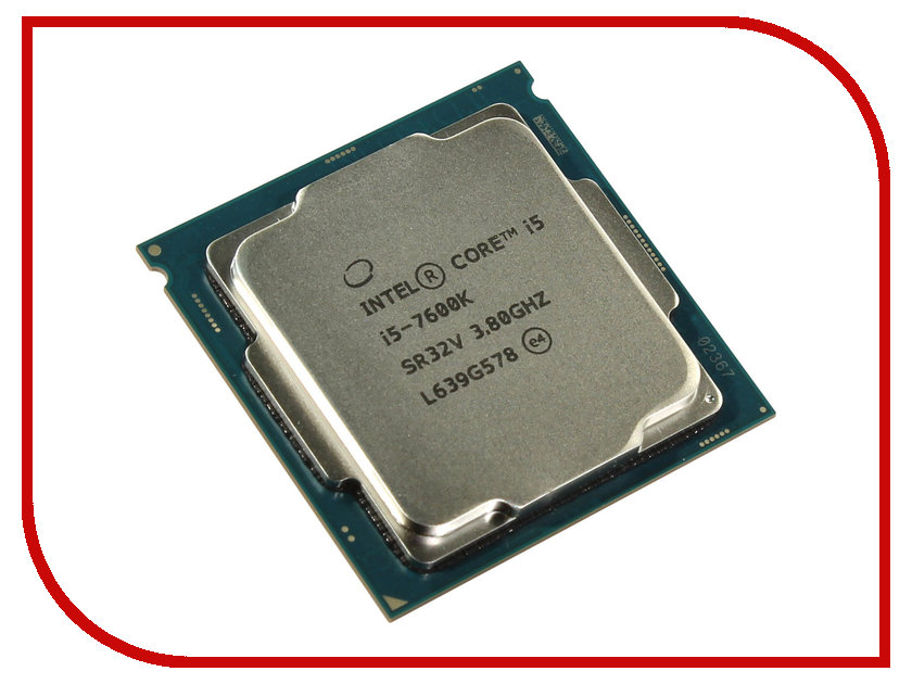 Процессор Intel Core i5-7600K Kaby Lake (3800MHz/LGA1151/L3 6144Kb) 100% new cpu sr0n8 i5 3317u sron8 i5 3317u bga chipset