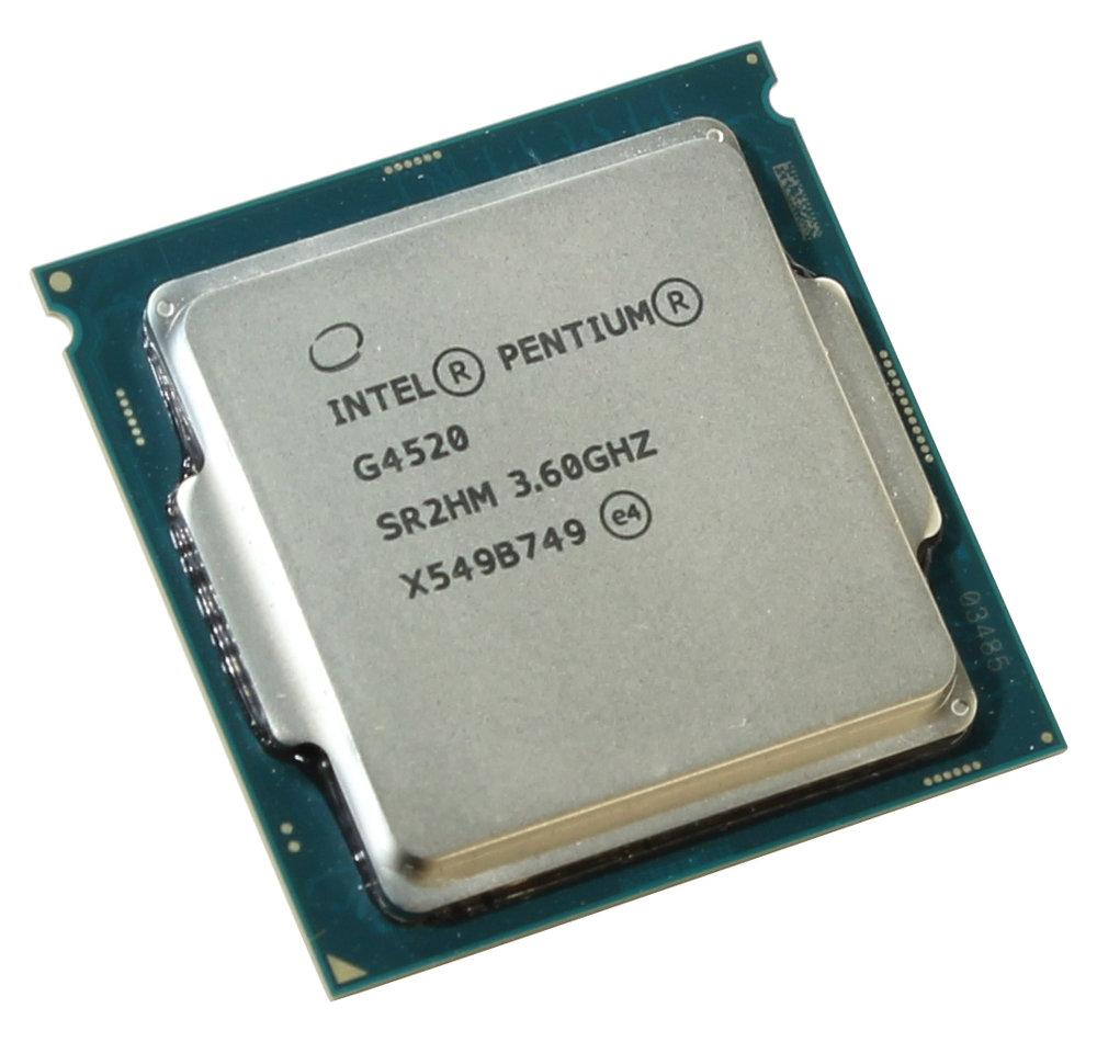 Процессор Intel Pentium G4520 Skylake (3600MHz/LGA1151/L3 3072Kb) OEM процессор intel pentium g3250 haswell 3200mhz lga1150 l3 3072kb sr1k7