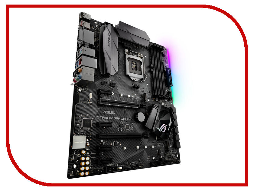 Материнская плата ASUS STRIX B250F GAMING asus strix tactic pro