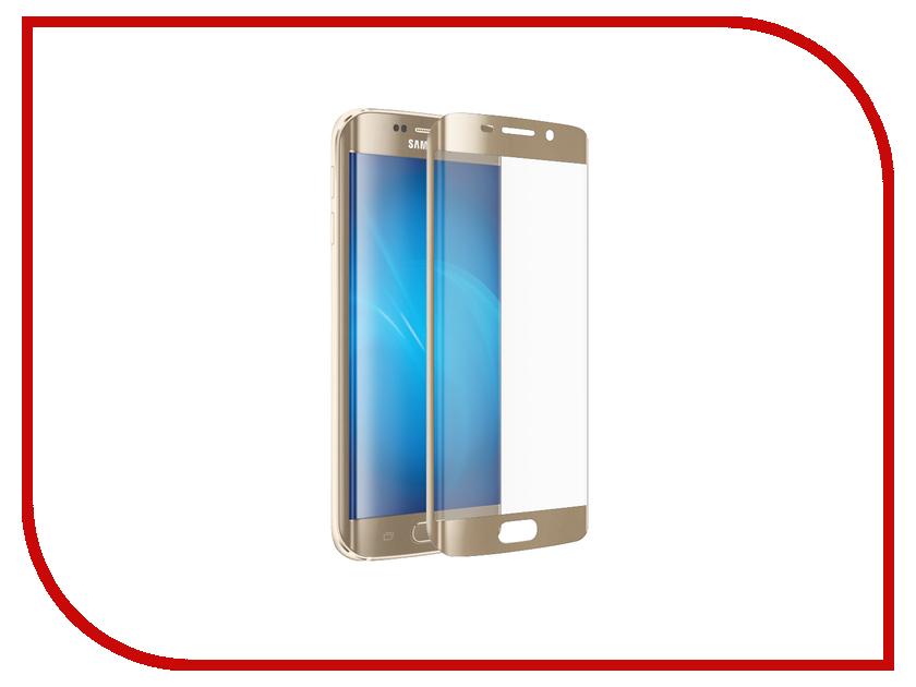 Аксессуар Защитное стекло Samsung Galaxy S7 Edge G935F Svekla 3D Gold frame ZS-SVSGS7E-3DGOLD / ZS-SVSG935F-3DGOLD g935f samsung