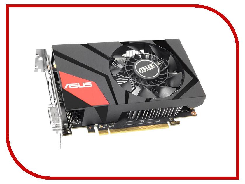 Видеокарта ASUS GeForce GTX 950 1051Mhz PCI-E 3.0 2048Mb 6610Mhz 128-bit DVI HDMI HDCP MINI-GTX950-2G