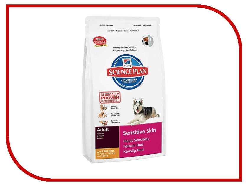 Корм Hills Sensitive Skin 12kg для собак 6060<br>