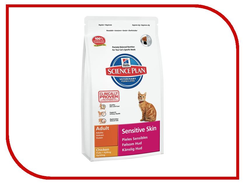 Корм Hills Sensitive Skin 1.5kg для кошек 7617<br>