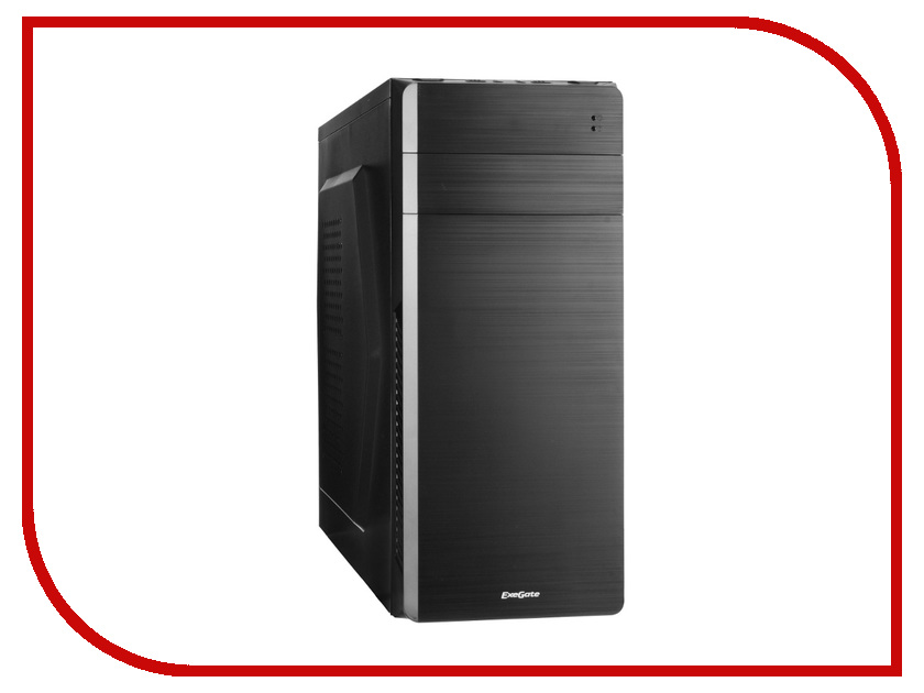 Корпус ExeGate XP-318 Black БП XP350 256270