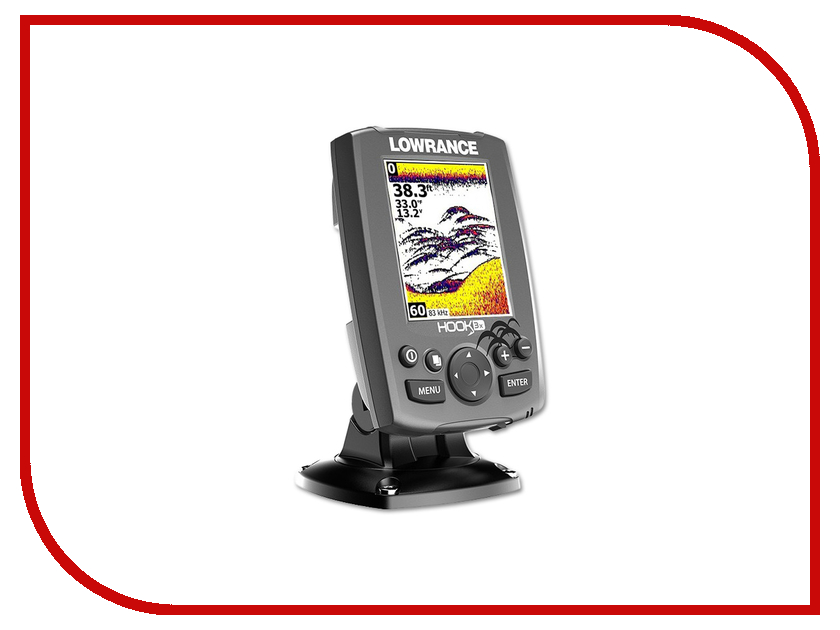 Эхолот Lowrance HOOK-3x All Season Pack 000-12639-001 lowrance elite 3x dsi