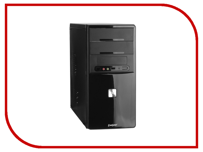 Корпус ExeGate QA-401 Black БП XP450 255775<br>