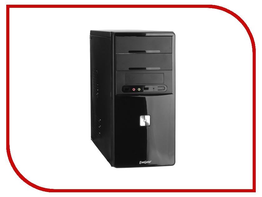 Корпус ExeGate QA-401 Black БП XP350 255773