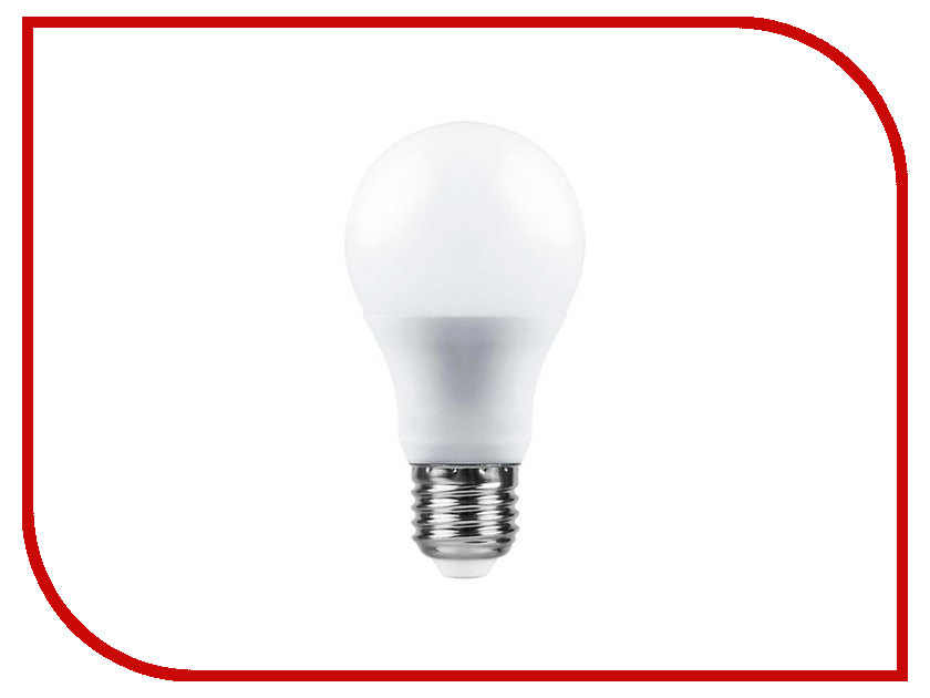 Лампочка Saffit E27 A60 7W 6400K 230V SBA6007 55003 лампочка rev led a60 e27 7w 4000k premium filament холодный свет 32354 9