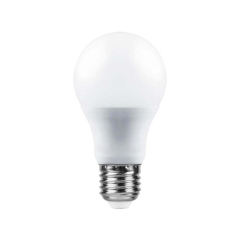 Лампочка Saffit E27 A60 10W 4000K 230V SBA6010 55005 цена