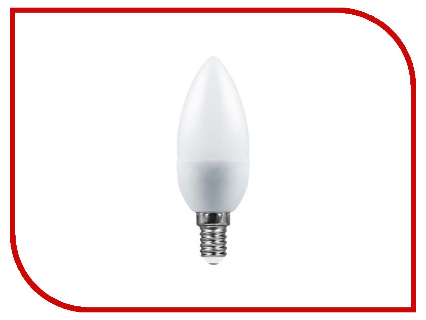 Лампочка SAFFIT C37 5W 2700K 230V E14 SBC3705 55019