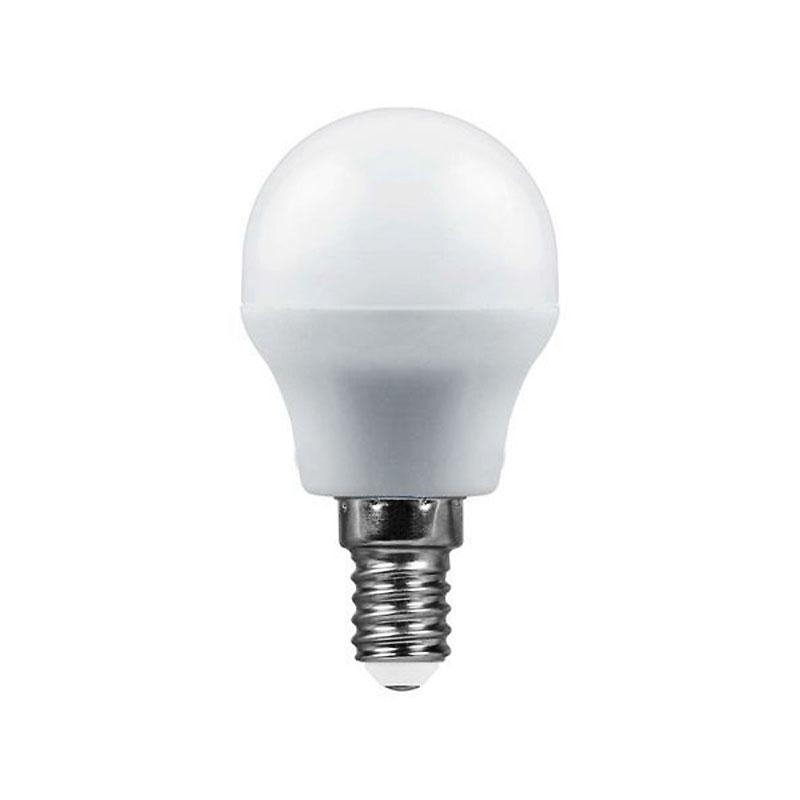 Лампочка Saffit G45 E14 7W 230V 4000K 560Lm Daylight SBG4507 55035