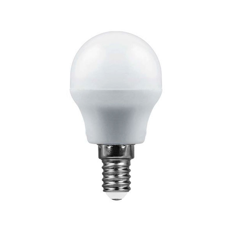 Лампочка Saffit G45 E14 7W 230V 2700K 560Lm Warm Light SBG4507 55034