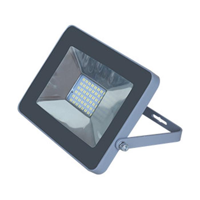 Прожектор Ecola Projector LED 10W 220V 2800K IP65 Silver-Grey JPSW10ELB