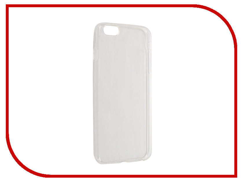 Аксессуар Чехол Dekken для APPLE iPhone 6/6S Plus Transparent-White 20398<br>