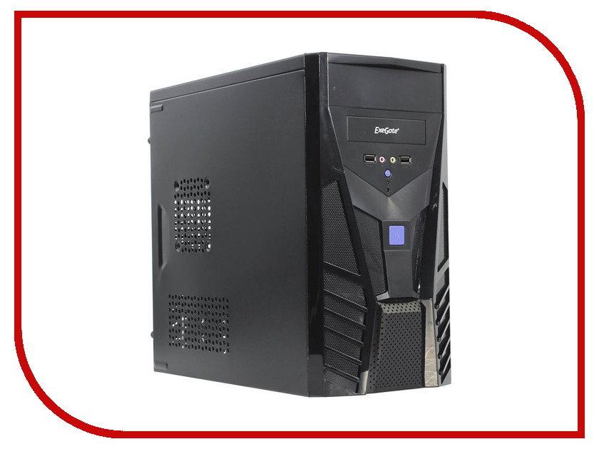 Корпус ExeGate BA-113 Black БП AB400 255771