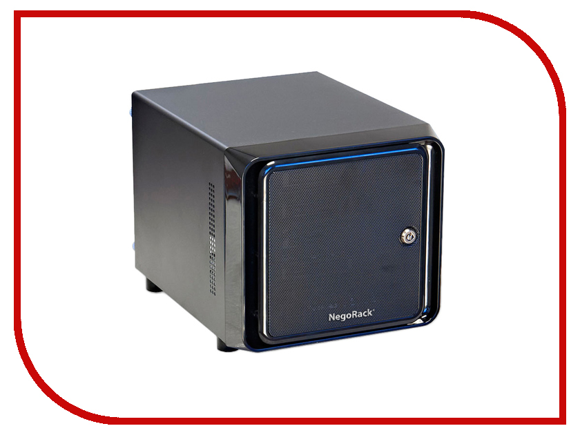Корпус NegoRack NR-ITX1 корпус negorack nr itx1