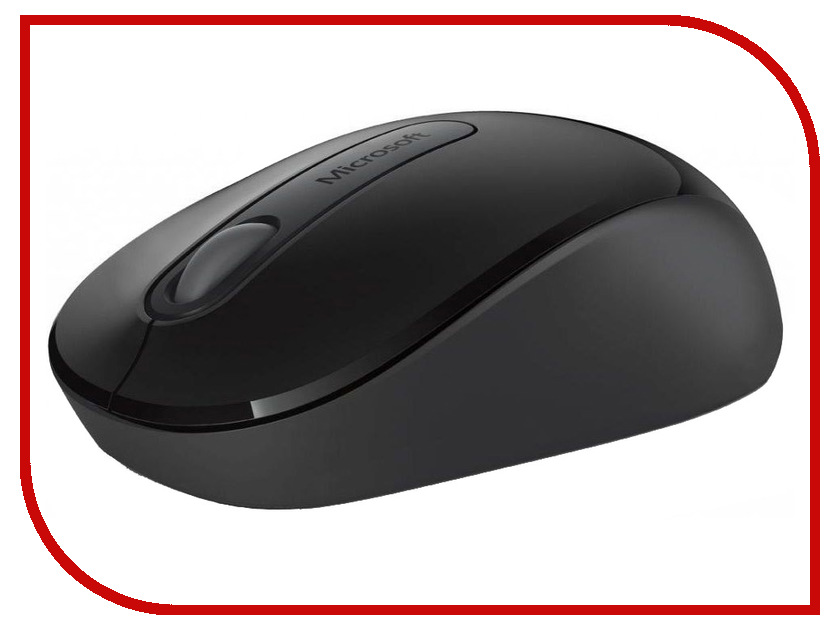 Мышь беспроводная Microsoft Wireless 900 USB Black PW4-00004