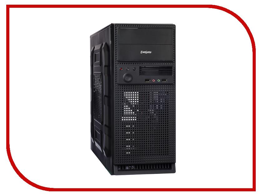 Корпус ExeGate TP-210 Black-Silver 400NPX 254039