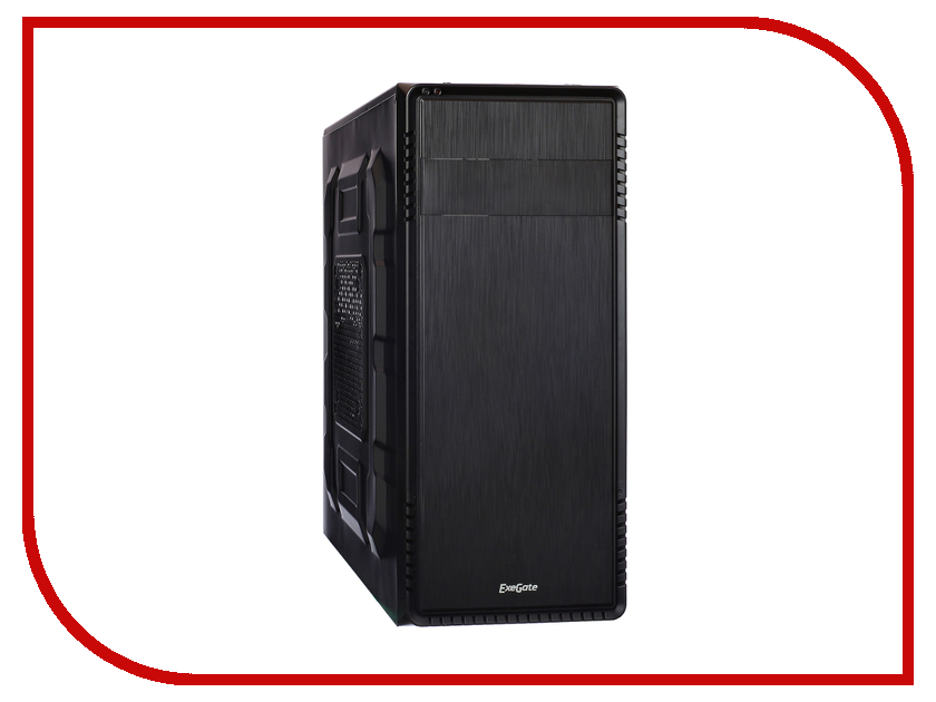 Корпус ExeGate TP-209 Black-Silver БП 500NPX 254037 корпус exegate tp 211 black бп 500npx 256294