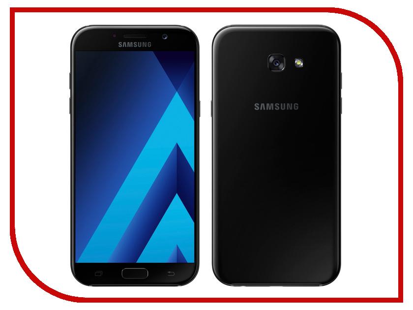 Сотовый телефон Samsung SM-A720F Galaxy A7 2017 Black аккумулятор zip для samsung galaxy a7 2017 sm a720f