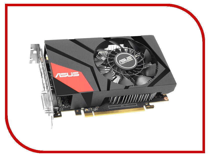 Видеокарта ASUS Radeon R7 360 1000Mhz PCI-E 3.0 2048Mb 6000Mhz 128 bit DVI HDMI HDCP MINI-R7360-2G 90YV09U0-M0NA00 видеодомофон falcon eye fe 70 w черный