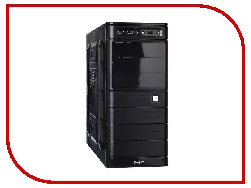 Корпус ExeGate TP-208 Black-Silver БП 500NPX 254033 корпус exegate tp 211 black бп 500npx 256294