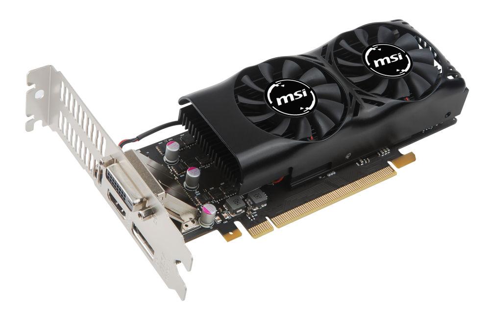 Видеокарта MSI GeForce GTX 1050 Ti 1290Mhz PCI-E 3.0 4096Mb 7008Mhz 128 bit DVI HDMI HDCP 4GT LP