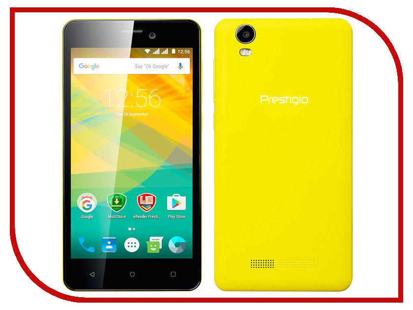 Сотовый телефон Prestigio Wize NK3 Yellow PSP3527DUOYELLOW