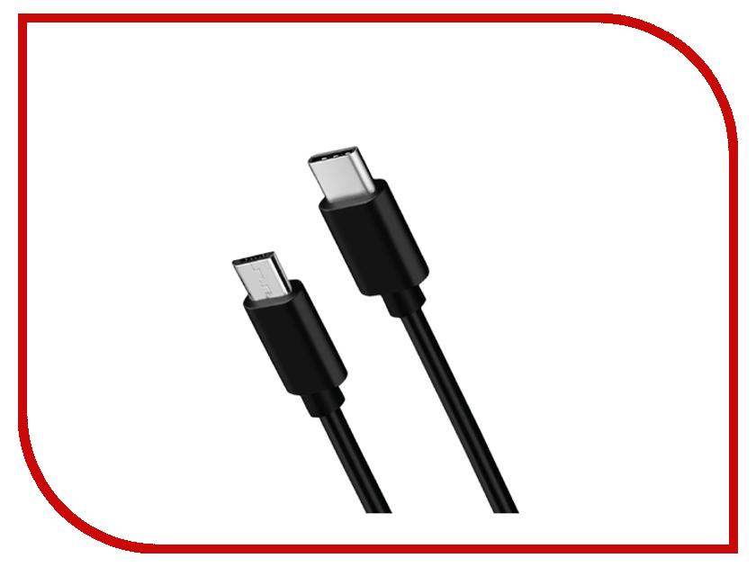 Аксессуар Nobby Comfort 013-001 USB C2.0 - microUSB 2.1A 1.2m Black 09349