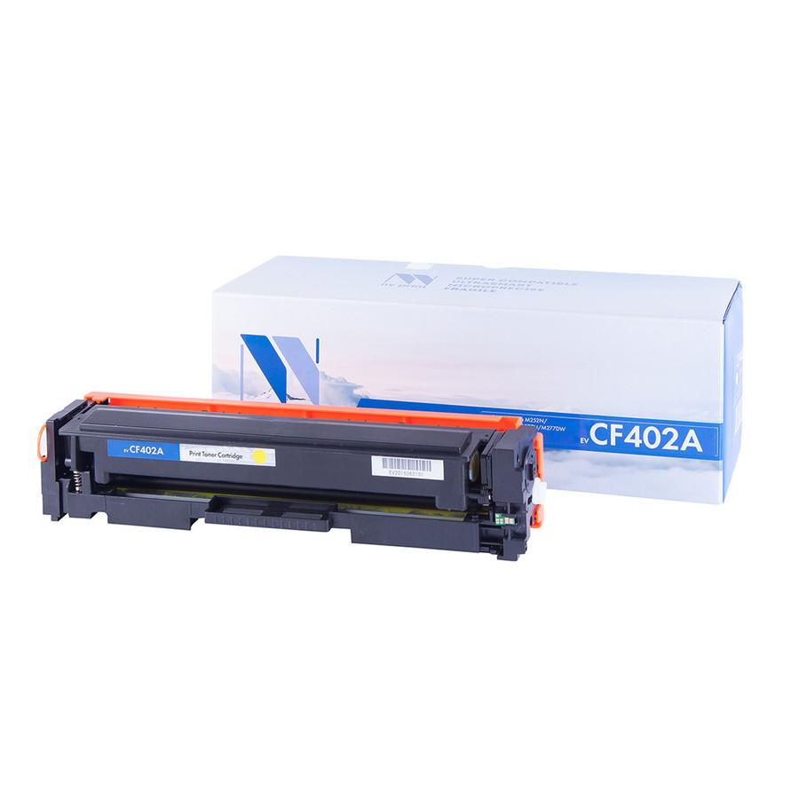 Картридж NV Print CF402A Yellow для HP LaserJet Color Pro M252dw/M252n/M274n/M277dw/M277n 1400к