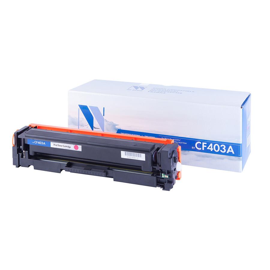 Картридж NV Print CF403A Magenta для HP LaserJet Color Pro M252dw/M252n/M274n/M277dw/M277n 1400к