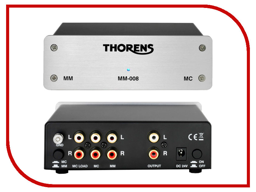 Фонокорректор Thorens ММ-008 Silver thorens td 235 black