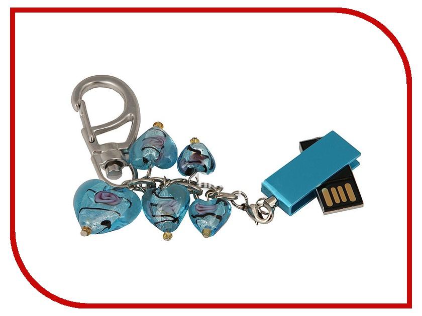 USB Flash Drive 16Gb - Союзмультфлэш Сердце Turquoise FM16SW2.10.TQ usb flash drive 16gb союзмультфлэш шерман fm16wr3 43