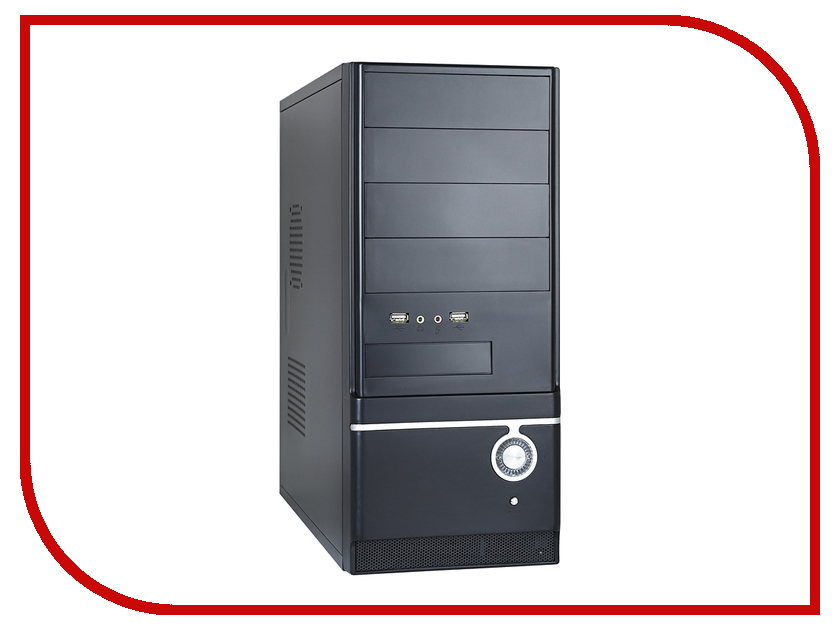 Корпус ExeGate CP-510 Black БП CP400 194375<br>