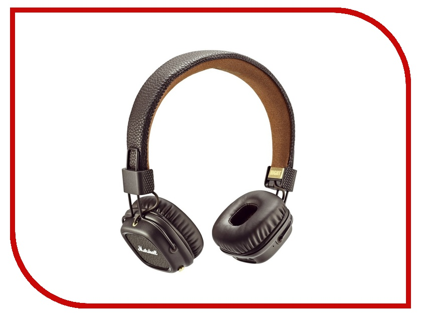 Marshall Major II Bluetooth Brown marshall major ii steel edition