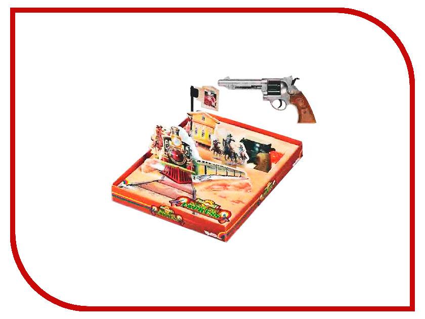 Игрушка Edison Набор с револьвером и мишенями Dodge Sity 636/22<br>