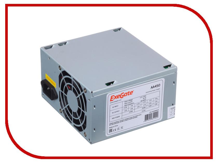 Блок питания ExeGate ATX-AA450 450W 255751 блок питания exegate atx 450npx 450w 224733