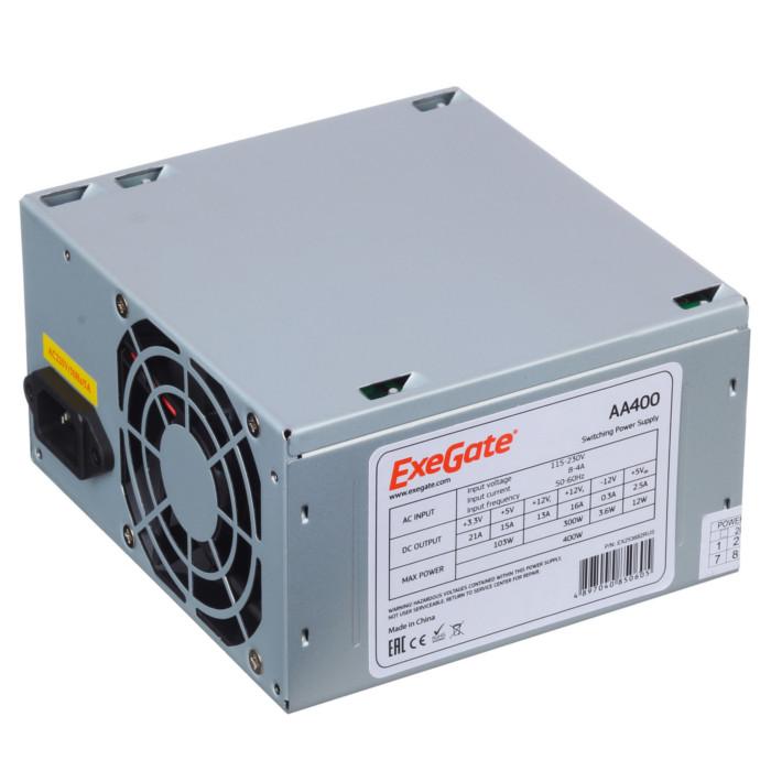 Блок питания ExeGate ATX-AA400 400W EX253682RUS цены онлайн