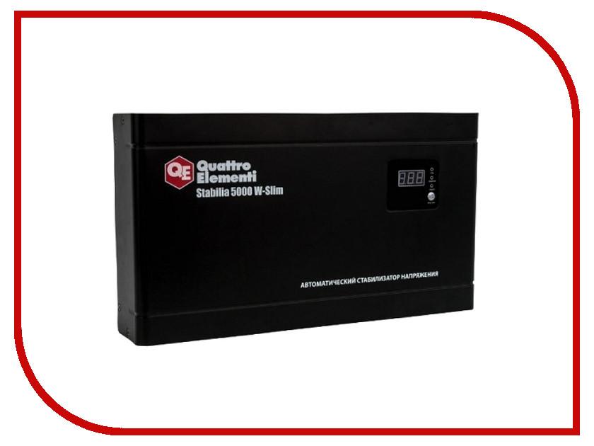 Стабилизатор Quattro Elementi Stabilia 5000 W-Slim 640-544<br>
