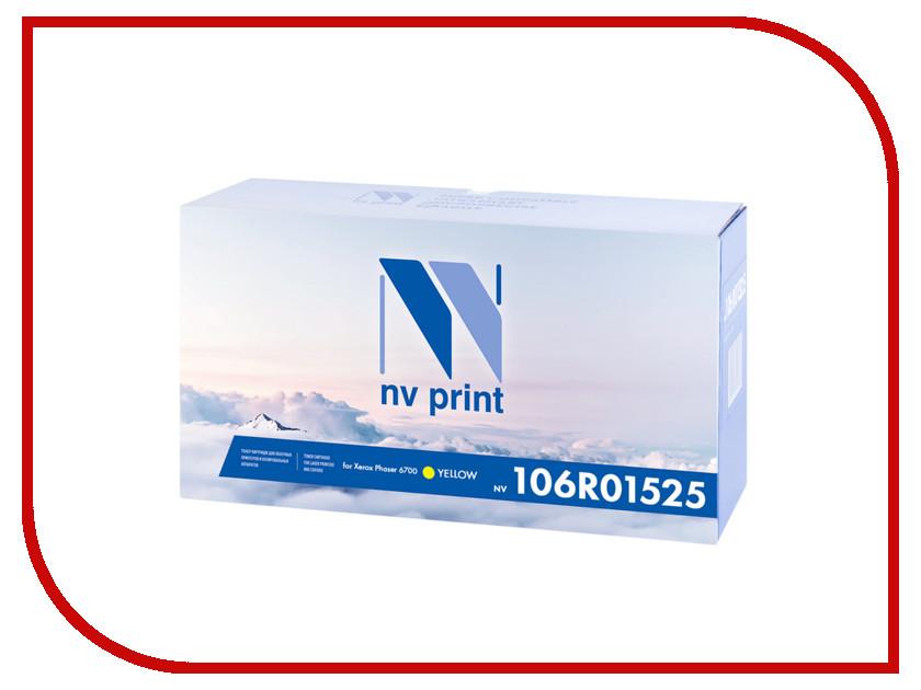 Картридж NV Print 106R01525 Yellow для Xerox Phaser 6700<br>
