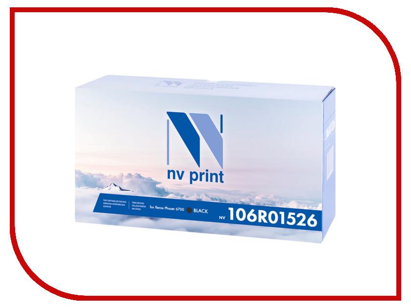 Картридж NV Print 106R01526 Black для Xerox Phaser 6700<br>