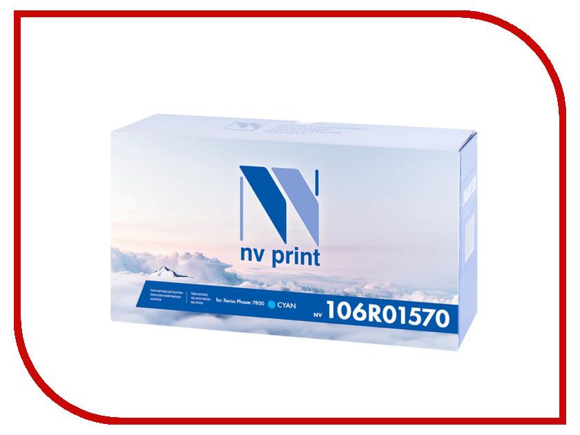 Картридж NV Print 106R01570 Cyan для Xerox Phaser 7800<br>