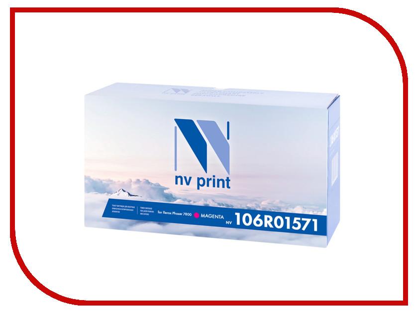 Картридж NV Print 106R01571 Magenta для Xerox Phaser 7800 картридж для принтера nv print для hp cf403x magenta
