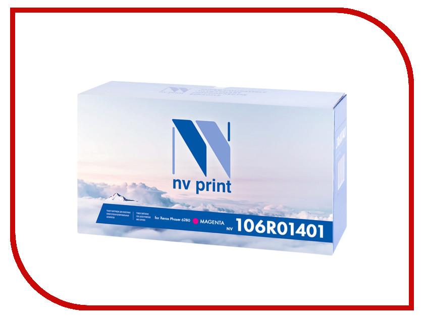 Картридж NV Print 106R01401 Magenta для Xerox Phaser 6280 картридж для принтера nv print для hp cf403x magenta