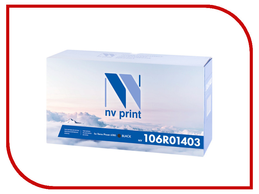 Картридж NV Print 106R01403 Black для Xerox Phaser 6280<br>
