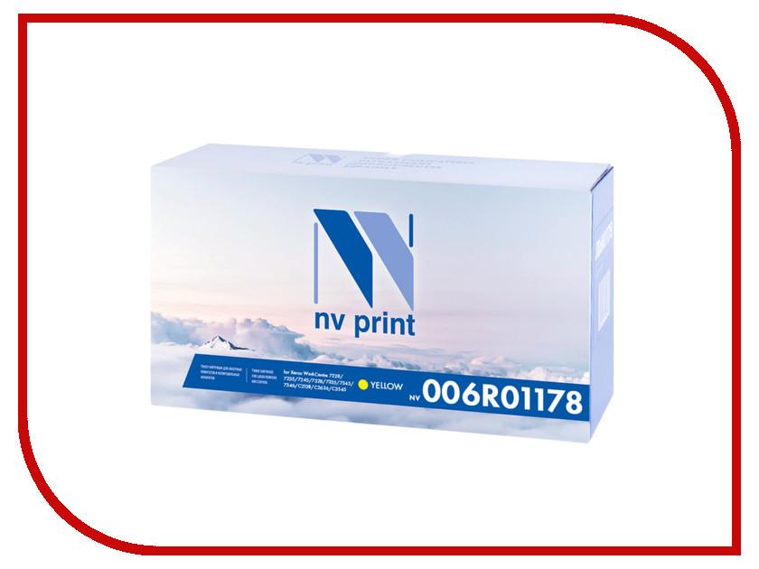 Картридж NV Print 006R01178 Yellow для Xerox WorkCentre 7228/7235/7245/7328/7335/7345/7346/С2128/С2636/С3545