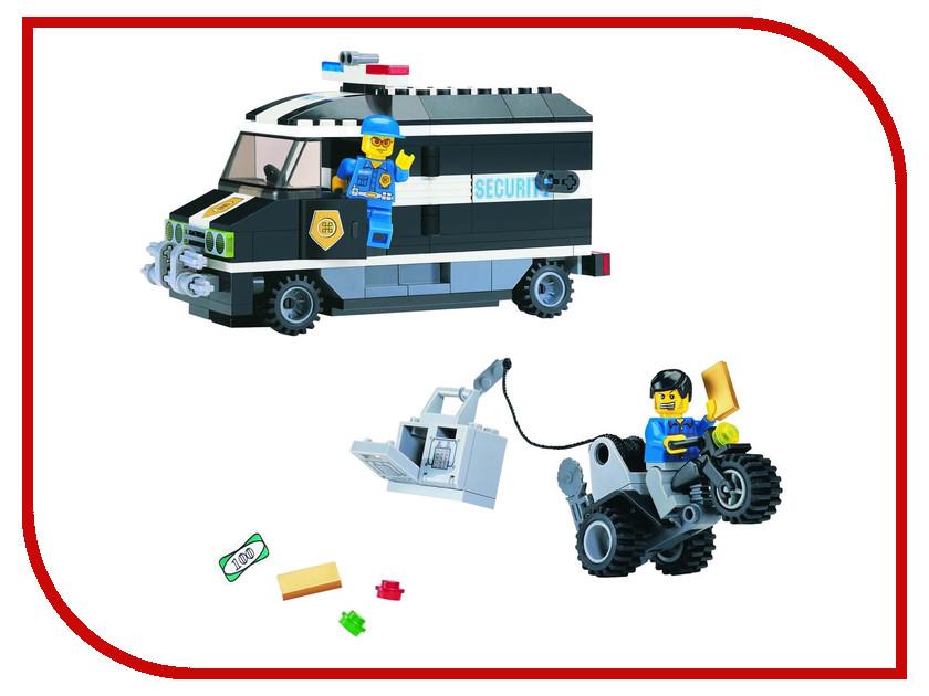 Конструктор Enlighten Brick Полиция 127 инкассаторы Г21622 конструктор enlighten brick город 111 центр спасения мчс г13594