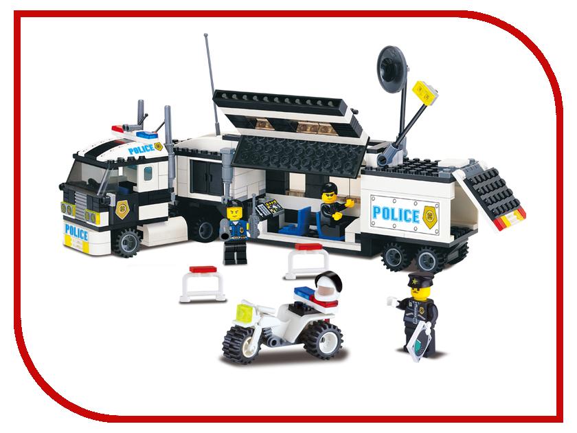 Конструктор Enlighten Brick Полиция 128 Полицейский фургон Г21623 конструктор enlighten brick каток c1104 1104
